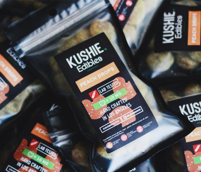 Kushie - Peach Drops 320mg