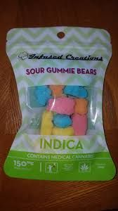 Infused Creations Sour Bears-150mg (Indica)