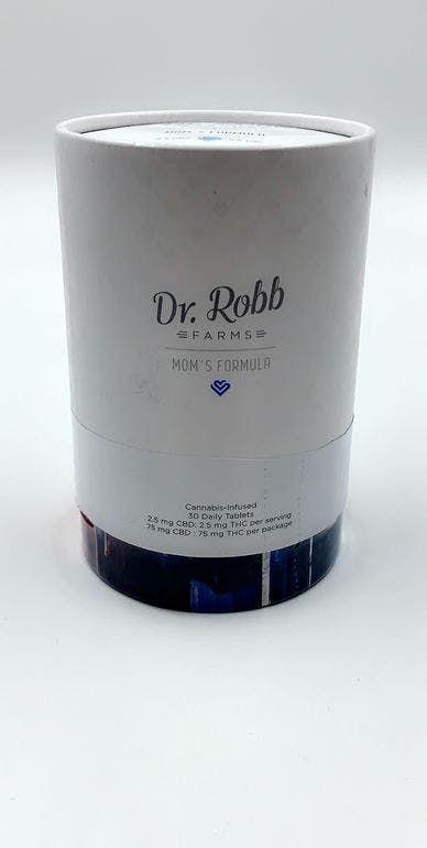 Dr Robb - Mom's Formula Daily Tablets 2.5mg CBD:2.5mg THC