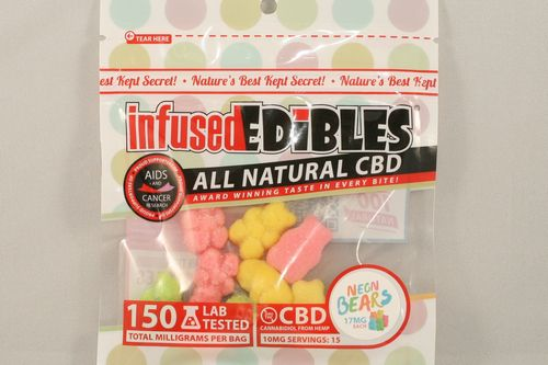 CBD Gummie Bears - 150mg - Infused Edibles