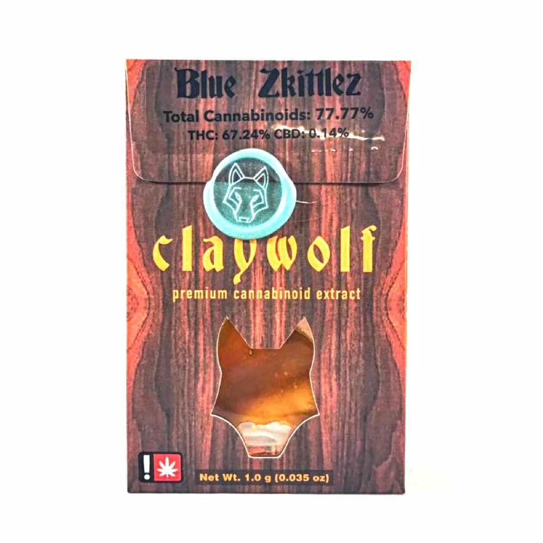 Claywolf - Blue Zkittlez, Indica, Sugar Sauce