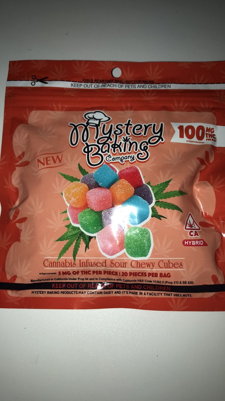 Mystery Baking Sour Chewy Cubes