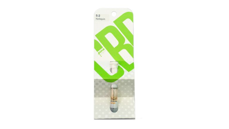 Pure Vape - CBD 5:2 Harlequin CO2 Cartridge