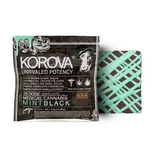 Korova Mint Black, 1000mg