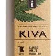 Kiva Dark Chocolate Bar $23