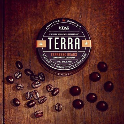 Kiva Terra Bites Espresso Beans $25