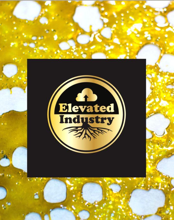 -Elevated -Blue Cookies