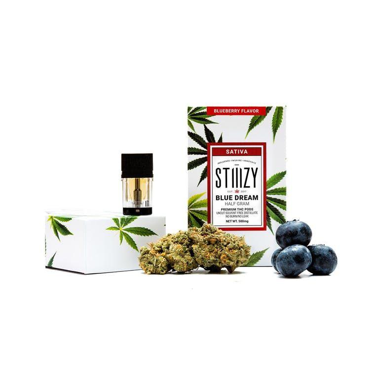 Blue Dream -Blueberry Flavor Premium THC POD