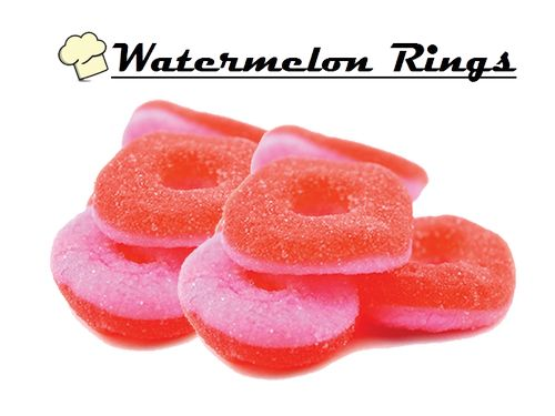 Infused Creations - Watermelon Rings (Sativa) 150mg