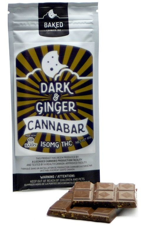 Baked Edibles Dark & Ginger Cannabar