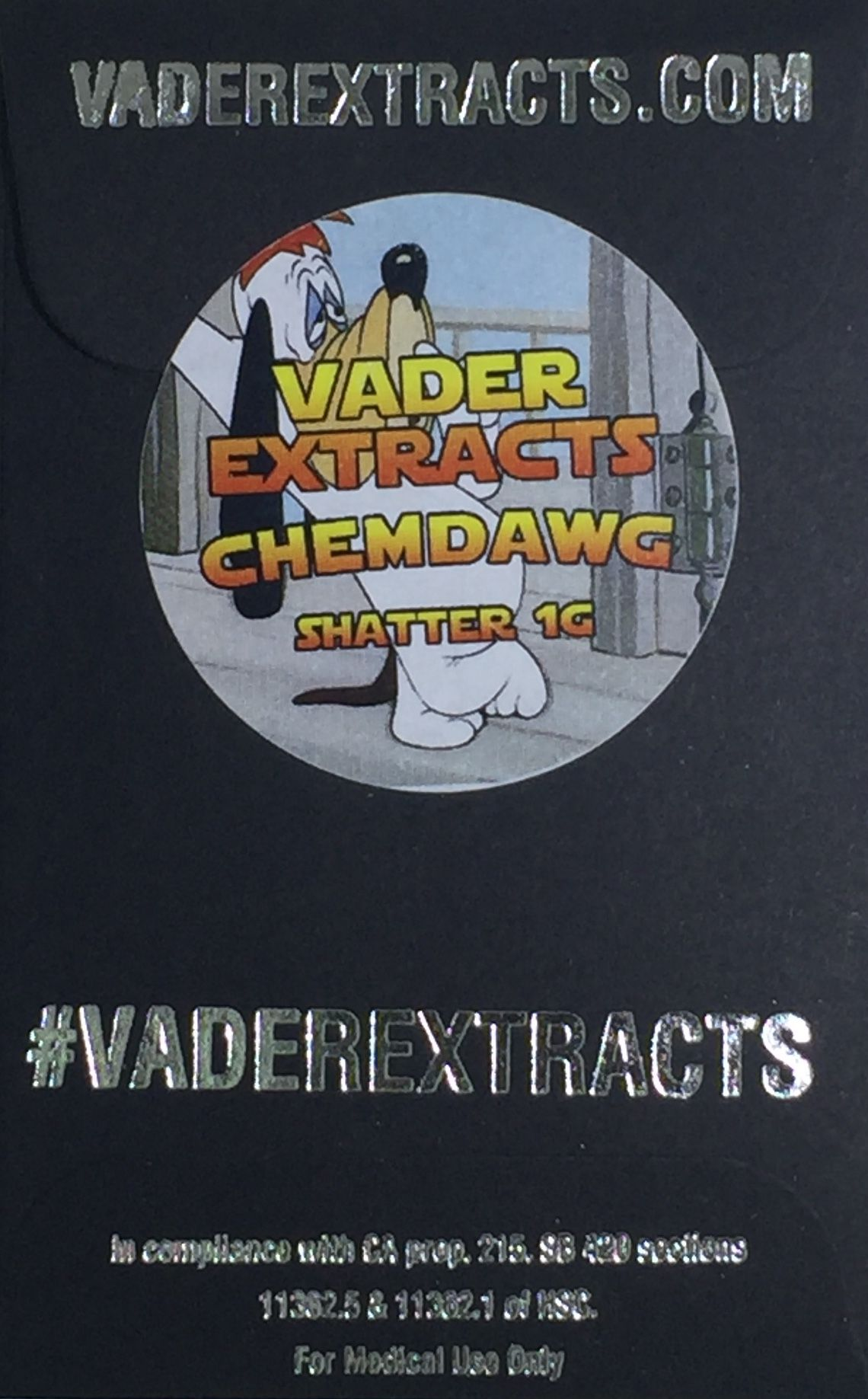Vader Extracts - Chemdawg - Shatter