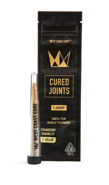 Strawberry Banana OG Cured Joint- West Coast Cure