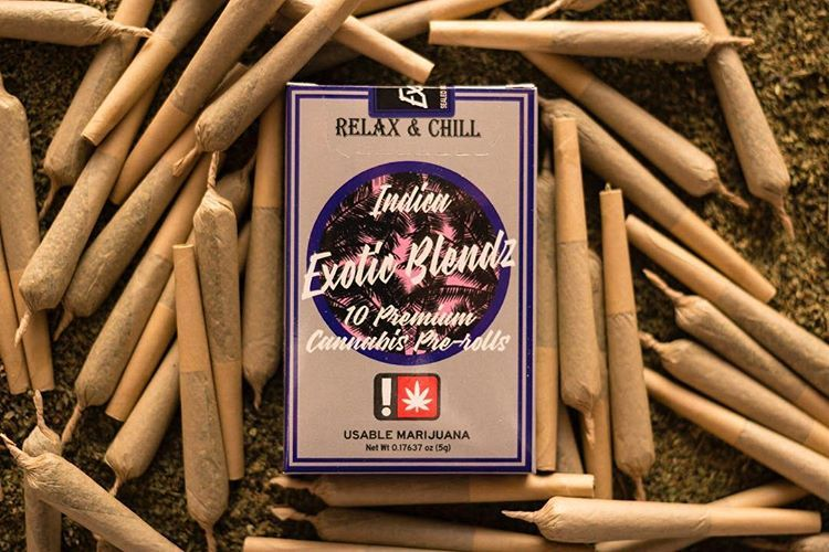 Exotic Blendz - Purple Kush, Indica, 10 Pack