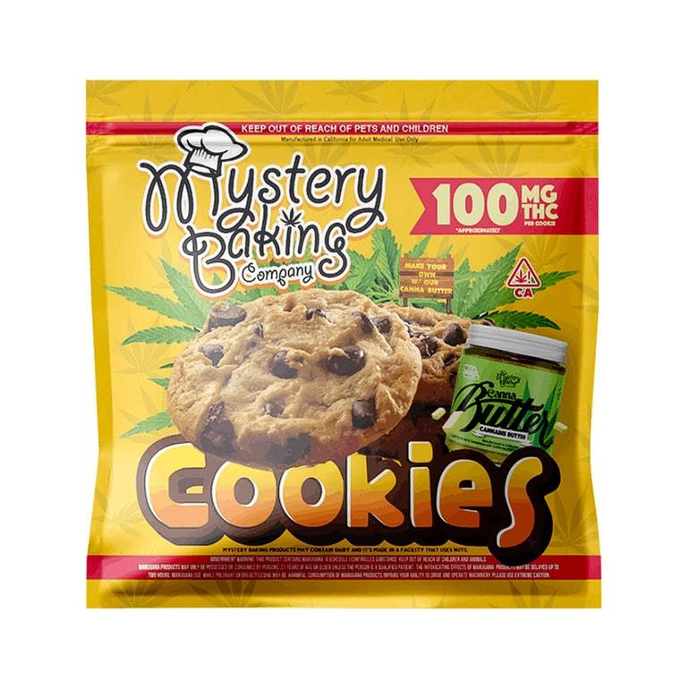 Mystery Baking - Cookies 100mg