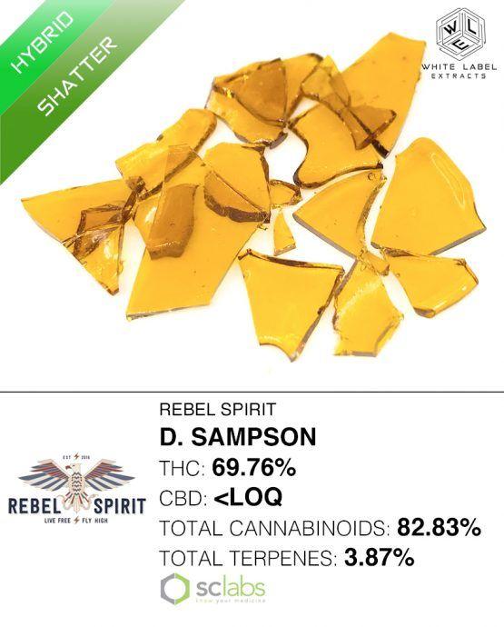 WLE - D. Sampson, Hybrid, Shatter