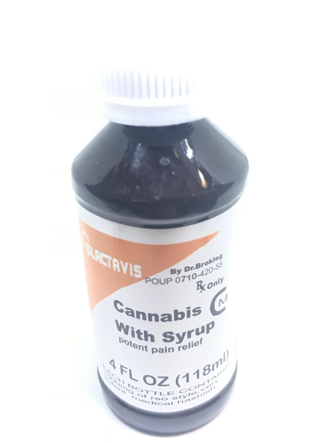 1500mg Slactavis - Cannabis with Syrup