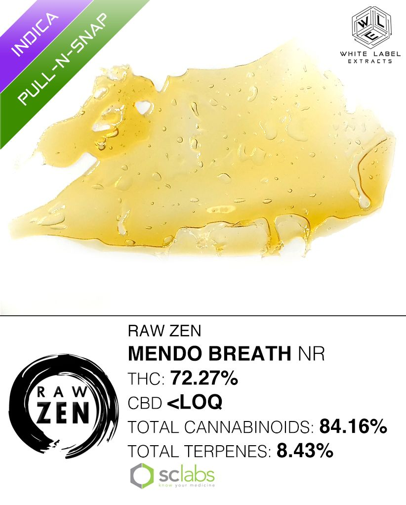 WLE - Mendo Breath, Indica, Pull and Snap