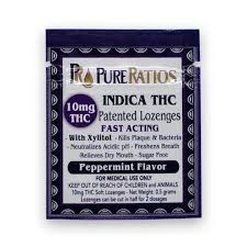 Indica 10mgPatented Lozanges