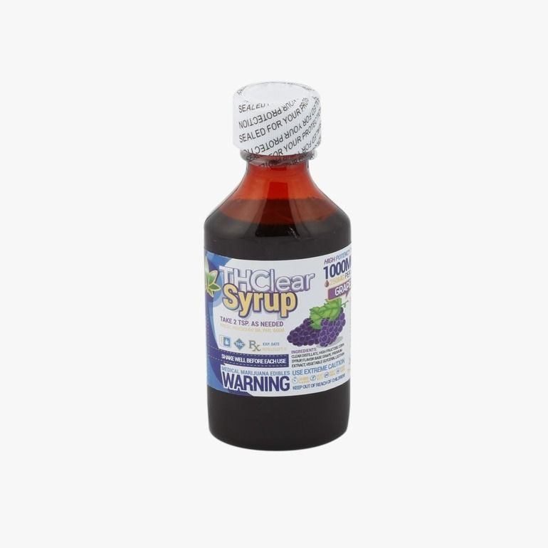 THClear Syrup 1000mg - Grape
