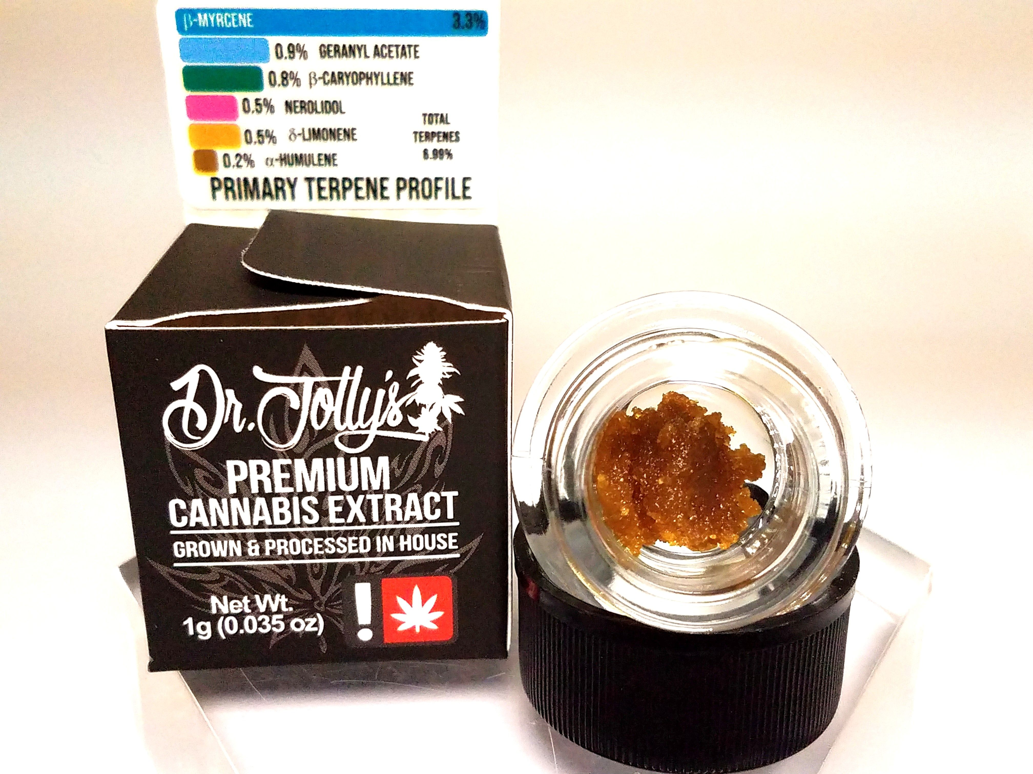 Dr. Jolly's - Cicero Haze, Sativa Hybrid, Sugar Wax