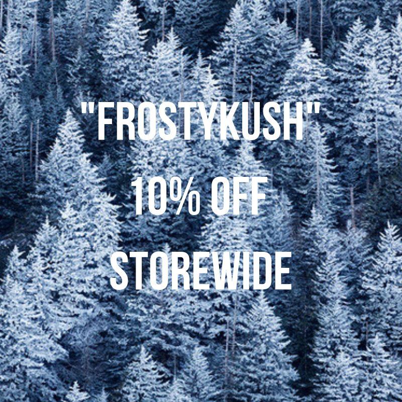 10% off storewide, let it snow!