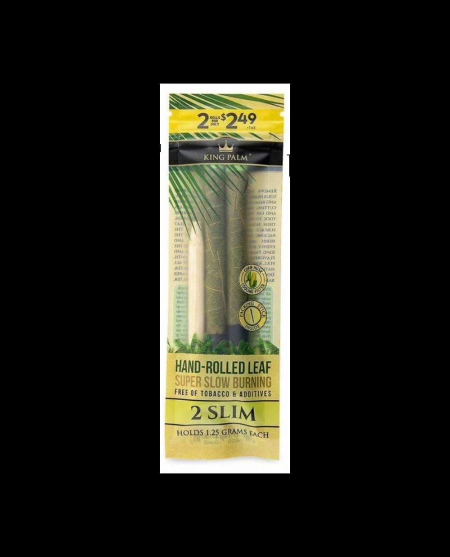 King Palm natural leaf rolls - mini rolls