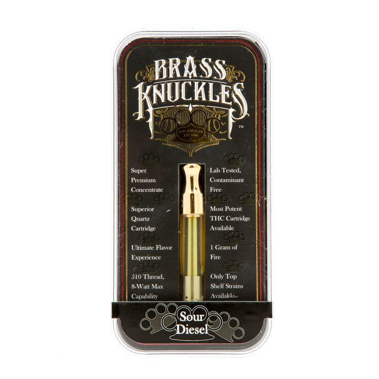 Brass Knuckles Sour Diesel Cartridge Sativa