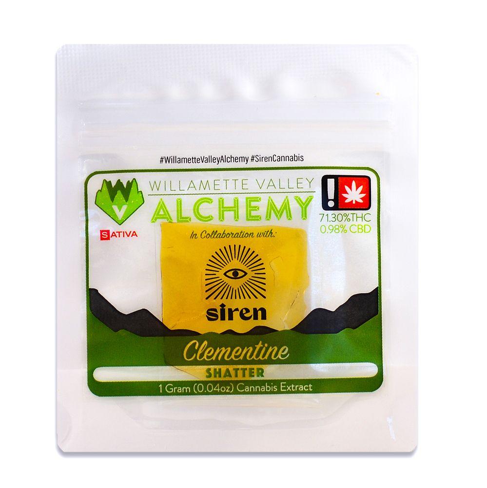 WVA - Clementine, Sativa, Shatter
