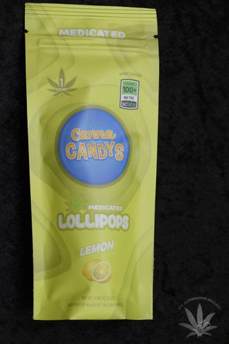 CannaCandys Lollipop - Lemon