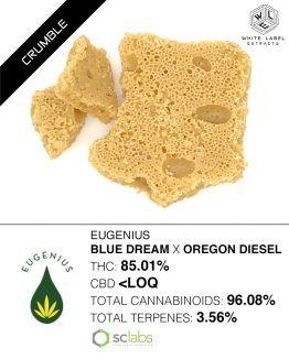 WLE - Blue Dream x Oregon Diesel Honeycomb