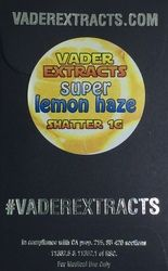 Vader Extracts-Super lemon Haze Shatter 1g