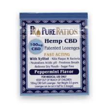 Hemp CBD Lozenge, 100mg