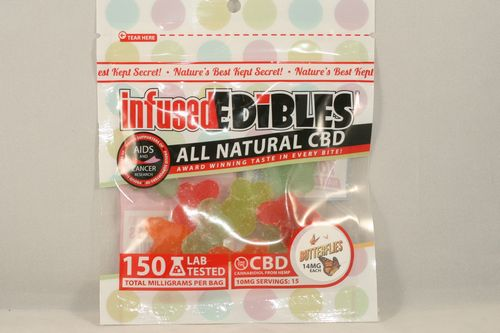 CBD Gummie Butterflies - 150mg - Infused Edible