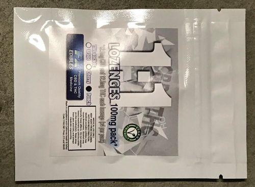 CBD/THC Lozenges 1:1 100mg