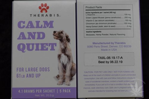 Therabis Calm & Quiet Large Dog (5 pack)