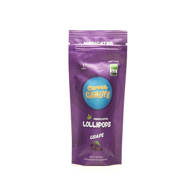 Grape Lollipop, 100mg THC