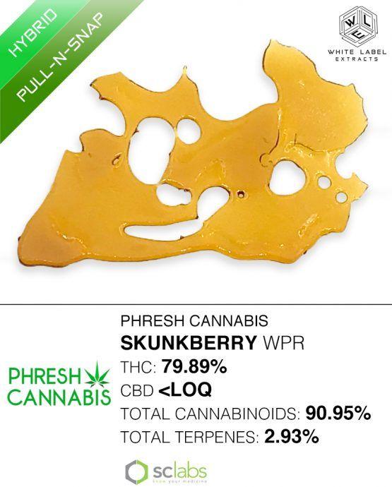 WLE - Skunkberry WPR, Hybrid, Pull-n-Snap