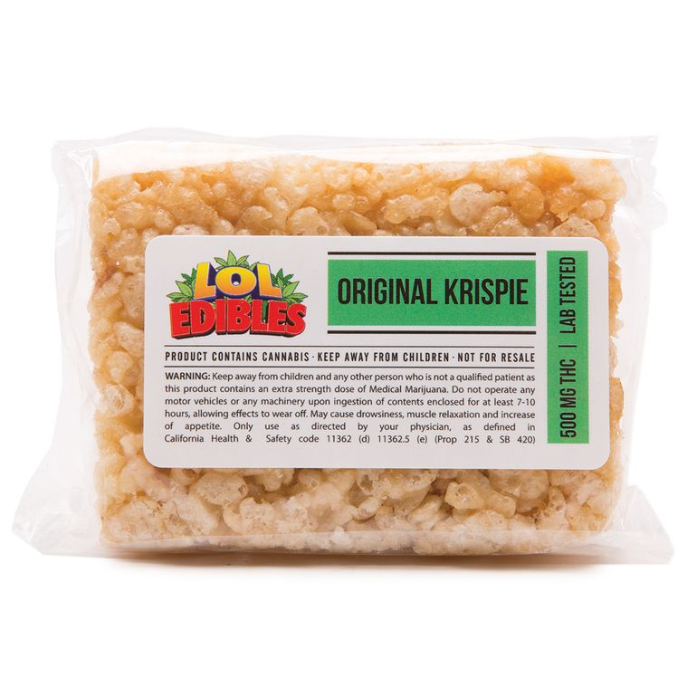 LOL Edibles Original Krispie 500 mg