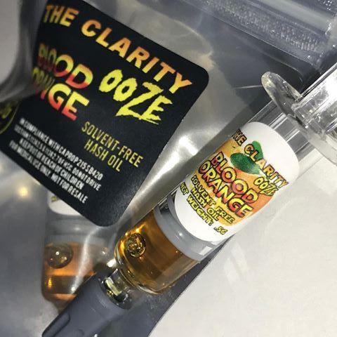 The Clarity - Ooz Blood Orange