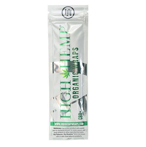 High Hemp Organic Hemp Wraps  or Box of 25 for 30