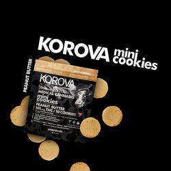Korova Peanut Butter Mini Cookies- 100Mg