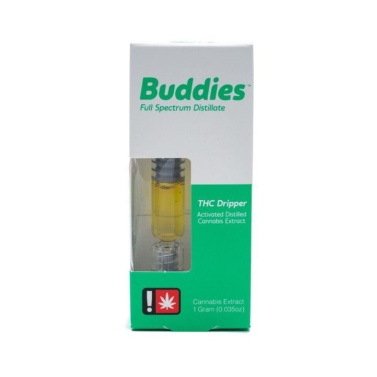 Buddies - Pineapple Kush, Hybrid, Distillate Dripper