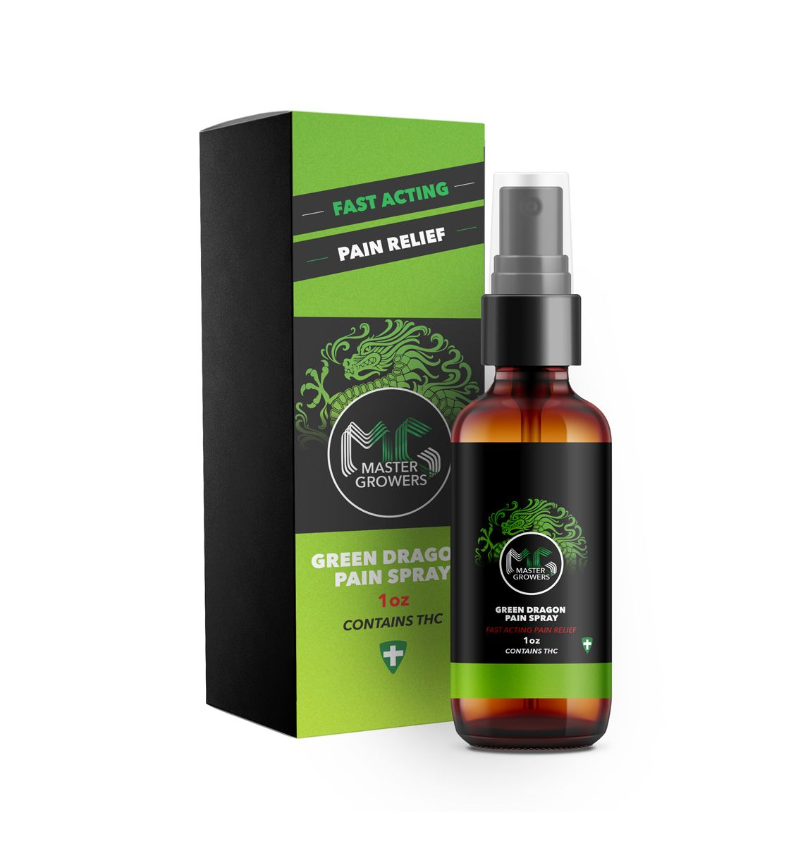 Green Dragon Pain Spray