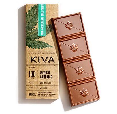 Mint Irish Cream Milk Chocolate Bar