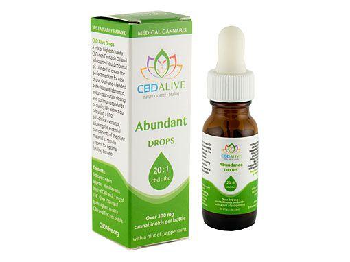 CBD Alive Mini Abundant Drops 20:1 5ml
