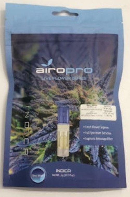 Airopro Live Flower Cartridge - Berry White