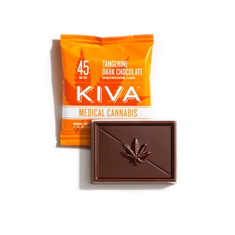 Kiva - Tangerine Dark Chocolate Mini - 45mg