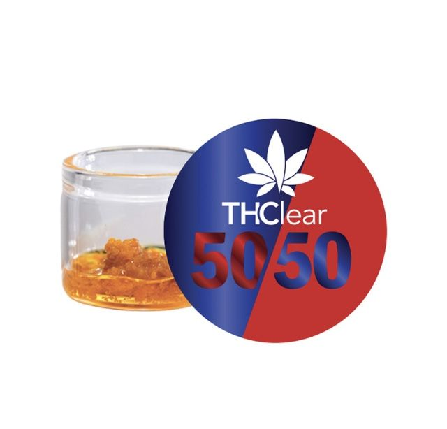 THClear 50/50 Jar - Pineapple Express
