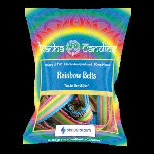 Kanha Candies- Rainbow Belts- 400MG