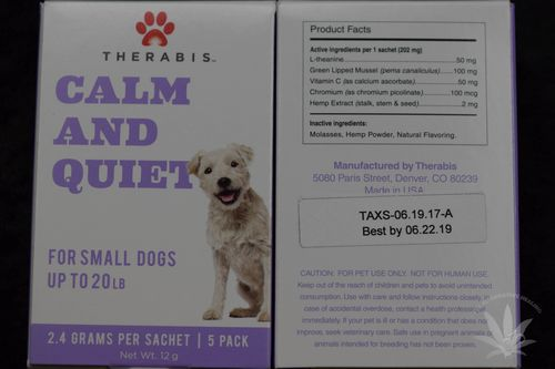 Therabis Calm & Quiet Small Dog (5 pack)